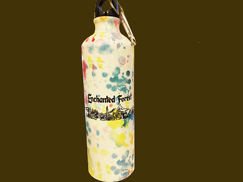 Enchanted Forest Water Bottle with Clip