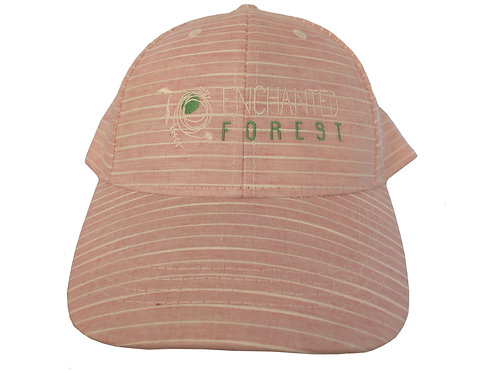 Enchanted Forest Striped Cap