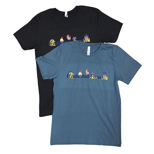 Adult Enchanted Forest Park T-Shirt