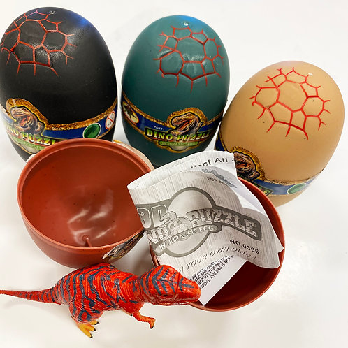 Dinosaur 3-D Puzzle in Egg