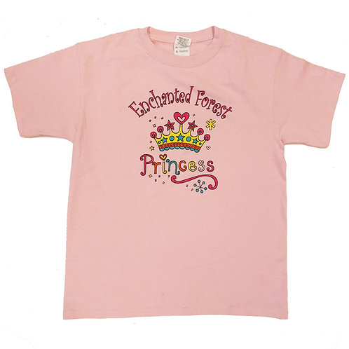 Youth Enchanted Forest Princess T-Shirt