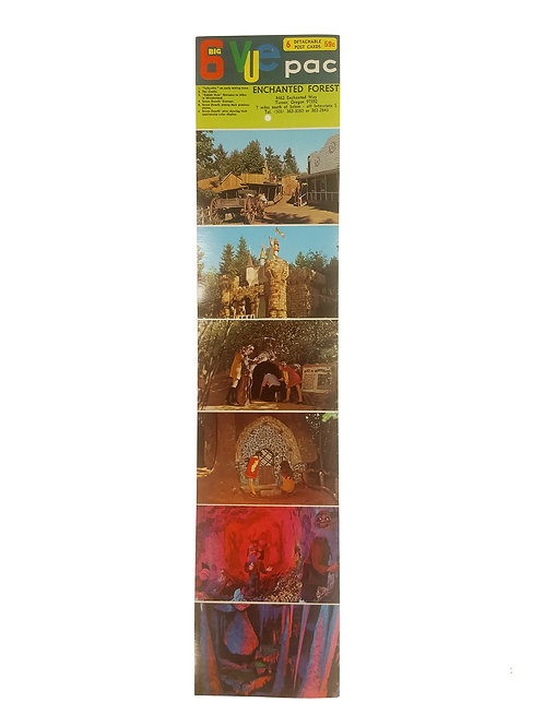 Enchanted Forest Postcard Strip Created in 1973