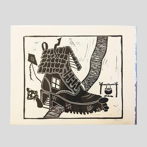 Shoe Slide Print by prints x mālie