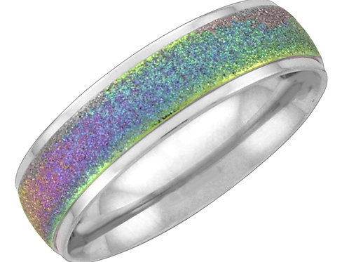 Ring with Multicolored Sparkles, Sized