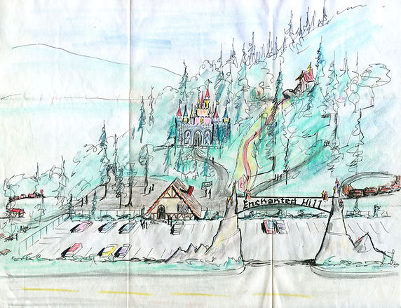 Original park concept drawing