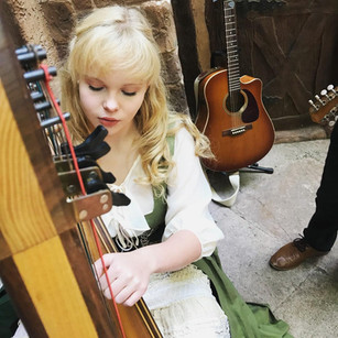 Samantha playing