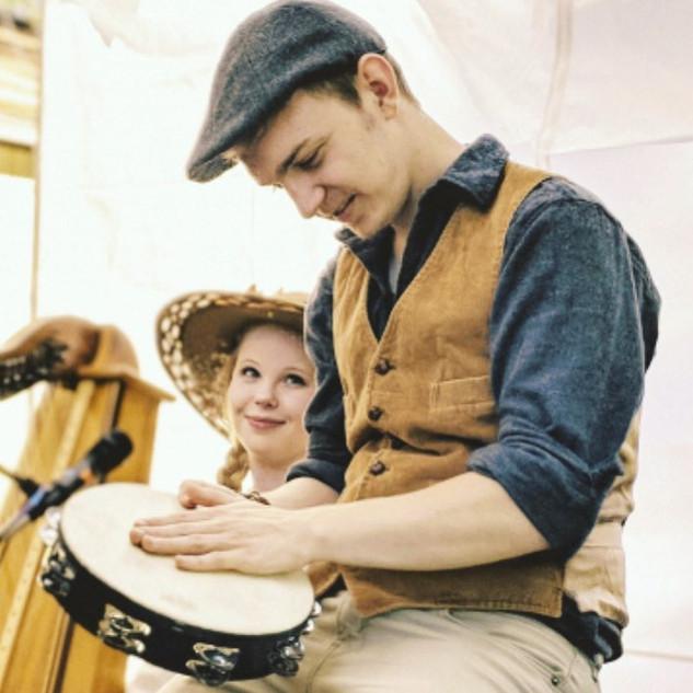 Evan tambourine