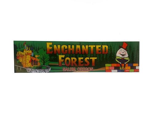 Enchanted Forest Bumper Sticker