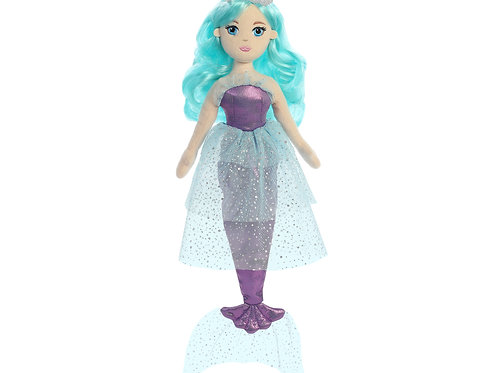 Mermaid Plush: Aquamarine
