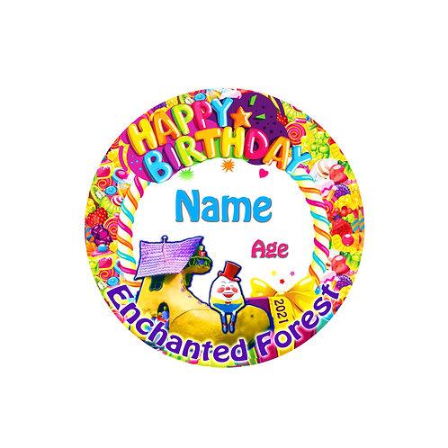 2021 Birthday Button