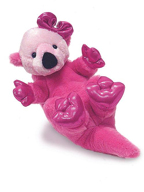 Pink Otter Plush
