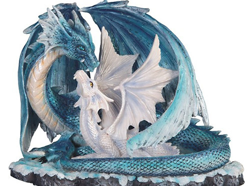 Blue Dragon with Baby