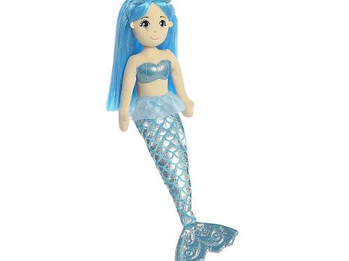 Mermaid Plush: Sapphire
