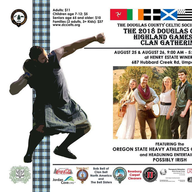 Highland games poster