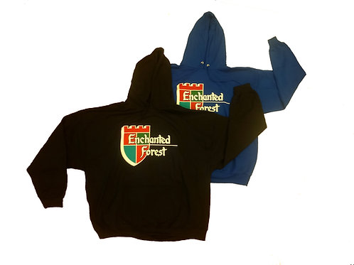 Adult Enchanted Forest Shield Hooded Sweatshirt