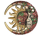 Mosaic Celestial Red and Gold.jpg