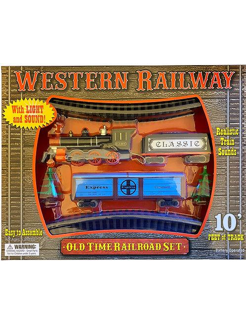 Western Railway Train Set