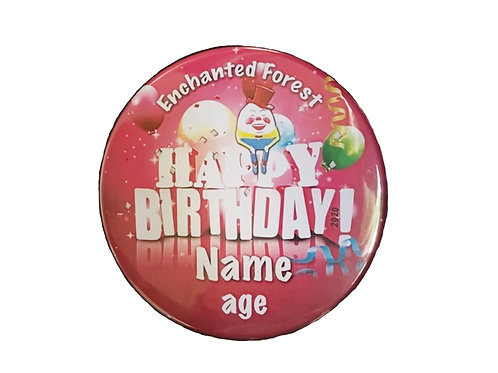 2020 Birthday Button