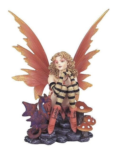 Fairy in Peach