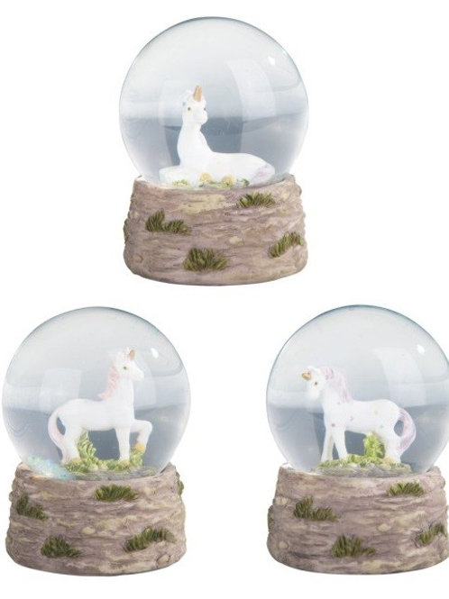 Snow Globe Unicorns