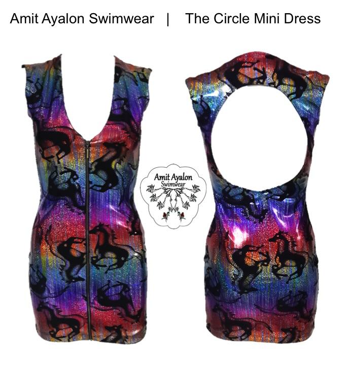The Circle Mini Dress