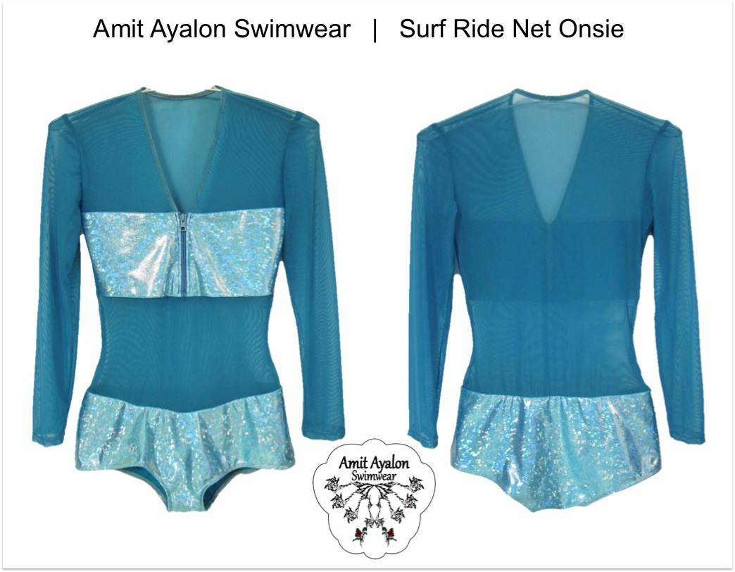 Surf Net Onsie Turqiouse