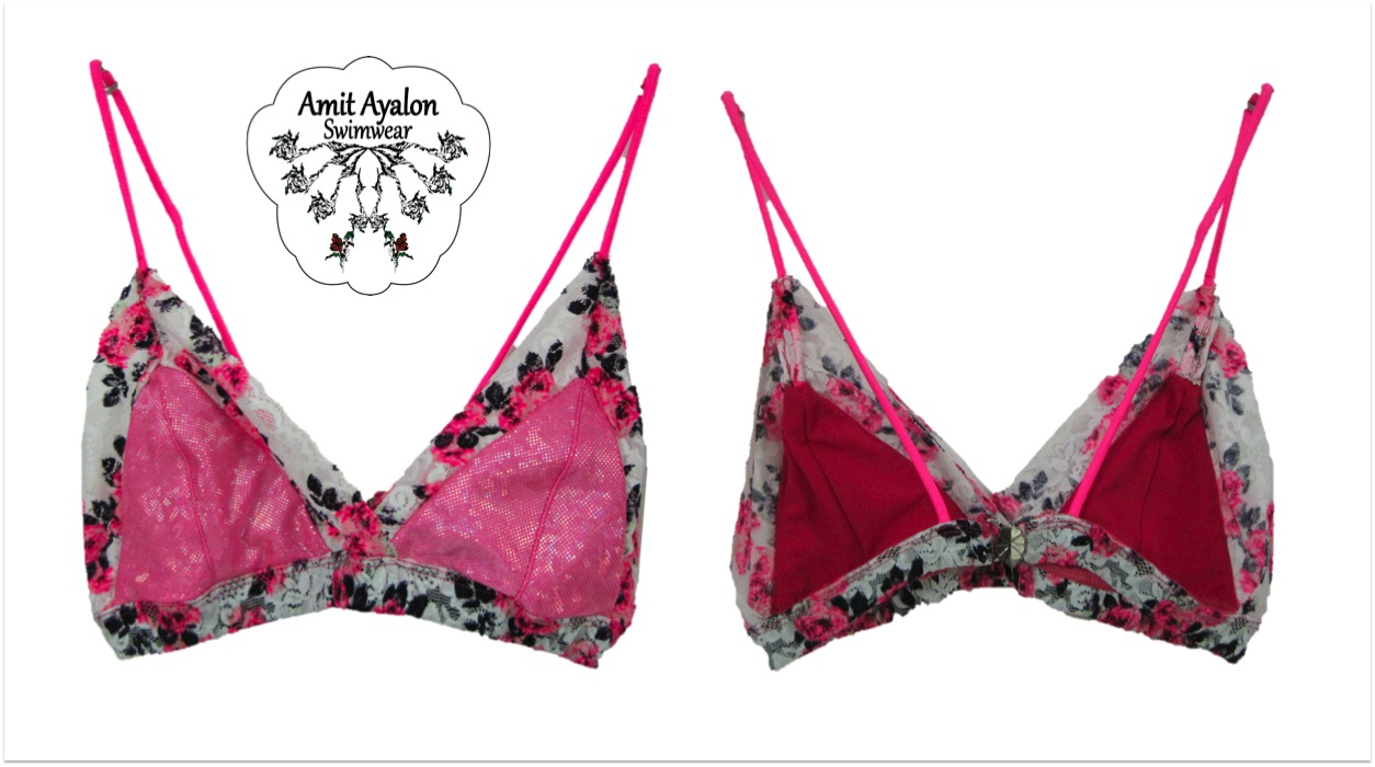 Lace Wrap Bikini Bra