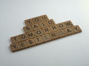 Action over Procrastination