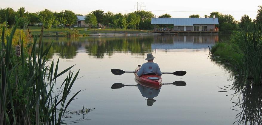 Peaceful Waters = Peaceful Mind