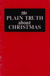 Plain Truth About Christmas (Prelim 1970