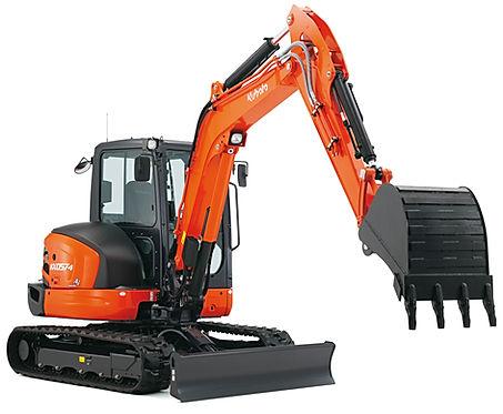 escavatore kubota accessori