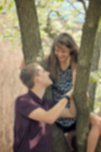 Dave and Veronika Spring Engagement IPFW Indiana.jpg