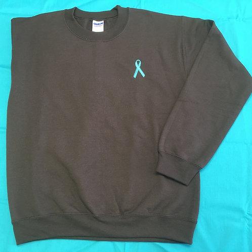 Teal Ribbon Sweatshirt