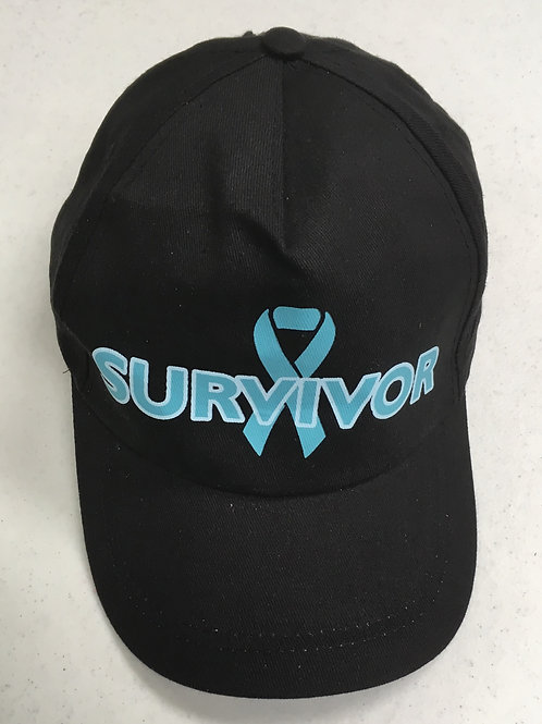 Teal Ribbon Baseball Cap