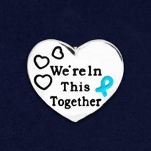 """We're In This Together"" Lapel Pin"