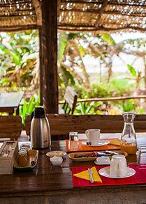 petit dejeuner Gite du Lac