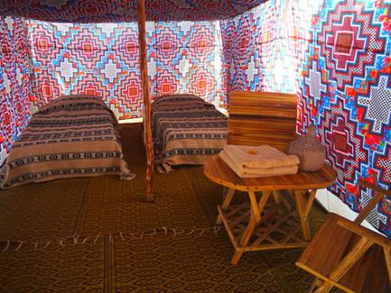 """Une tente du camp """"classic"""""""