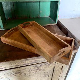 Rectangle Mango Wood Trays