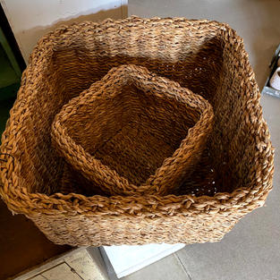 Woven Seagrass Baskets