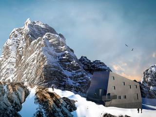 1. preis wettbewerb seethalerhütte dachstein (in zusammenarbeit mit dreiplus architekten)