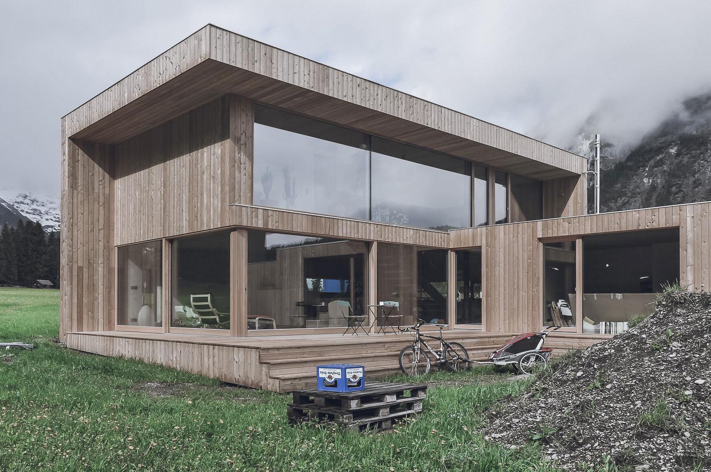 haus leutasch holzhaus holzfassade einfamilienhaus neubau mikula el ghoubashy architekturhandwerk