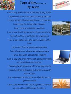 I am a boy... By_ Jeson