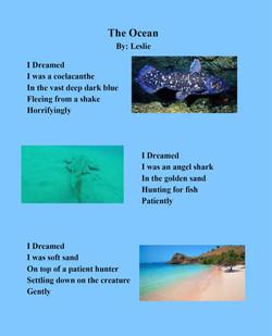 The Ocean by Leslie