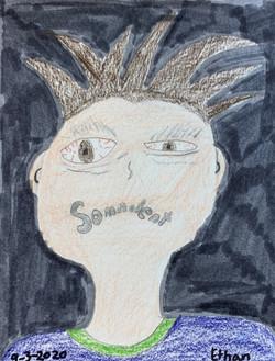Self Portrait by Ethan