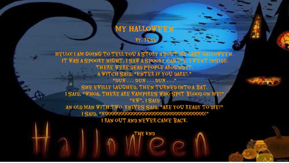 My Halloween by Jena