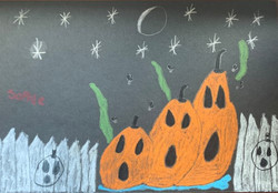 Rotting Pumpkins by Sophie