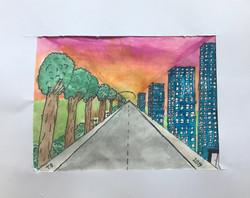 2-D Perspective - Thalia
