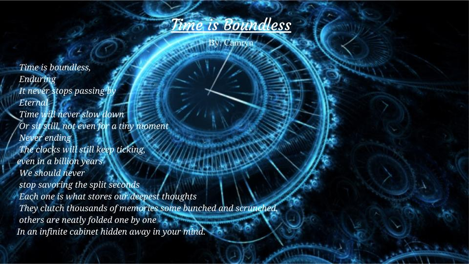 Time is Boundless