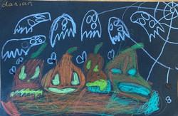 Rotting Pumpkins by Danian