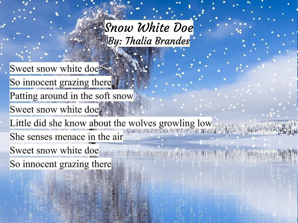 Snow White Doe By Thalia